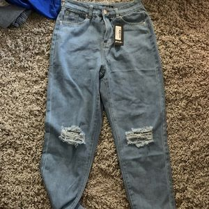 Nasty gal denim blue jeans